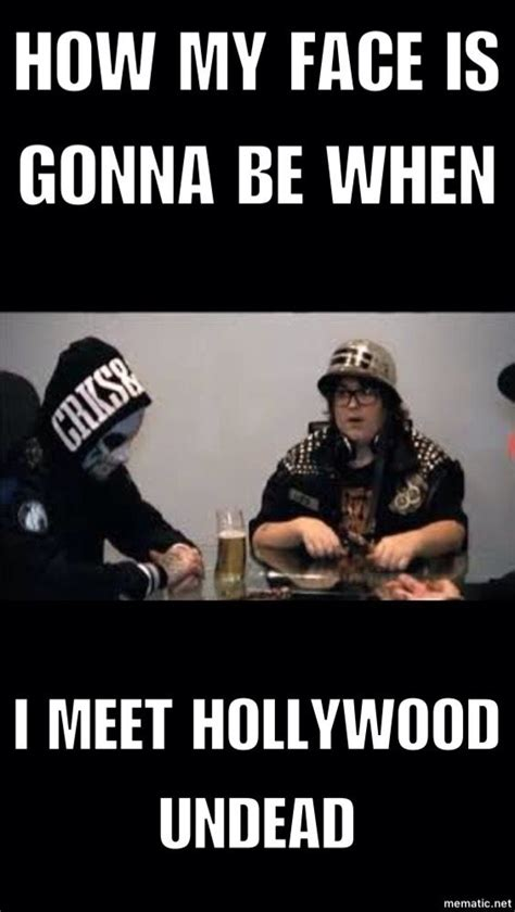 Hollywood Undead Memes - i dunno if i would cry or what o o xdd dude i be like pinterest hollywood undead