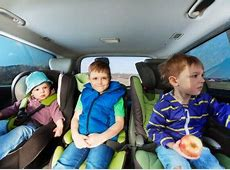 Which SUVs have three ISOFIX points for child seats