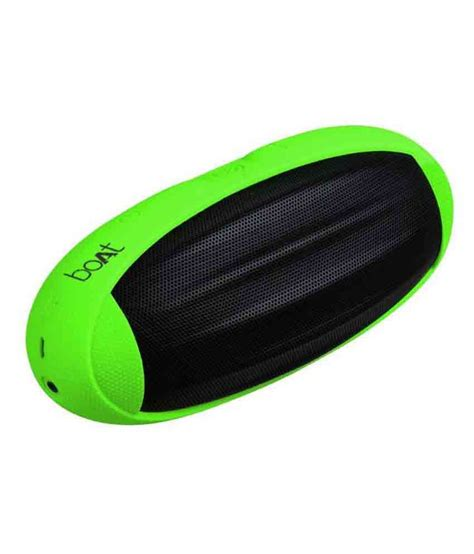 Boat Rugby Speakers India by Boat Rugby Bluetooth Speaker Green Snapdeal Price
