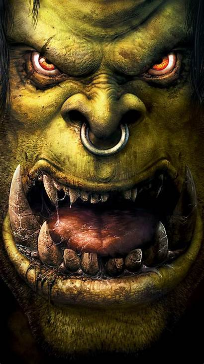 Warcraft Orc Iphone Android Wallpapers Wow Phone