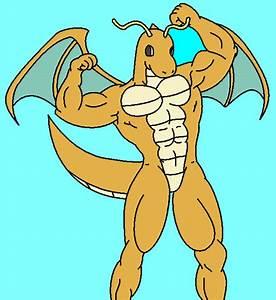 Image Gallery Muscle Dragonite