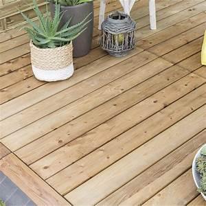 Bois Compressé Leroy Merlin : planche clipsable bois xtiles marron x cm x ~ Melissatoandfro.com Idées de Décoration