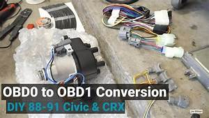 How To Convert To Obd1 For Any Obd0 Civic  Crx  Integra