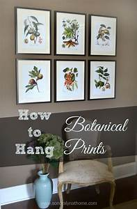 203 best home design decor images on pinterest color With kitchen colors with white cabinets with framed botanical wall art