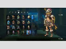 Zelda BOTW Barbarian Armor Set Location