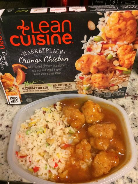 lea cuisine lean cuisine marketplace orange chicken it was delicious expectationvsreality