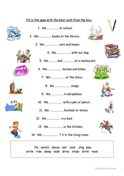 choose   verb english esl worksheets  distance