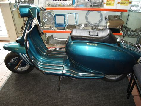 Lambretta Image by Lambretta Indian Gp Rb225 Seemless Green Sold