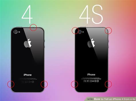 how to tell which iphone i have how to tell an iphone 4 from a 4s 8 steps with pictures How T