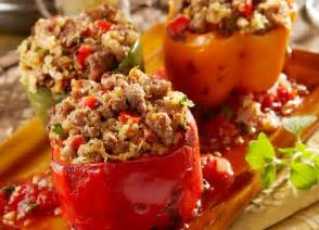 Italian Sausage Stuffed Peppers