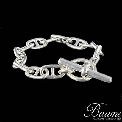 Bracelet Maille Marine Argent Bijouxbaume Bijou Favoris