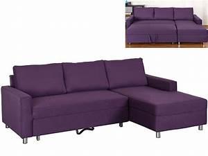 canape angle droit violet prune achat en ligne With canapé d angle violet