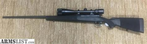 armslist  sale winchester model  synthetic stock