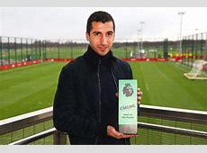 Henrikh Mkhitaryan Man United star dedicates award to