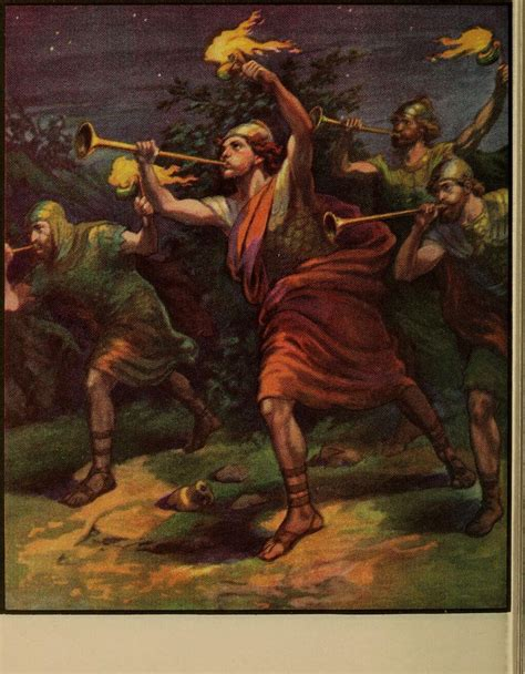 Bible Stories Explained Gideon Routs The Midianites