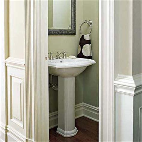 Small Half Bathroom Paint Ideas by Via The Of October 2010