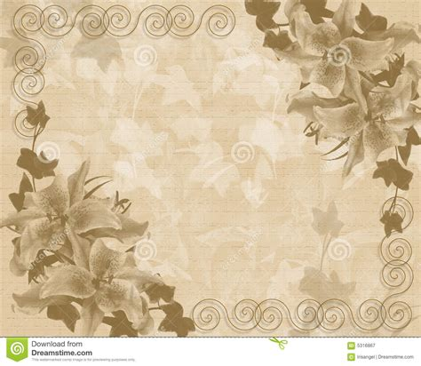 wedding  party invitation floral template royalty