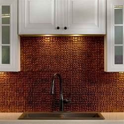 tin tiles for kitchen backsplash kitchen dining metal frenzy in kitchen copper