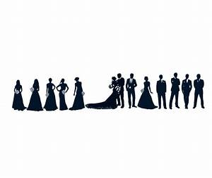 Wedding Powerpoints Bridal Party Clipart Clipart Suggest