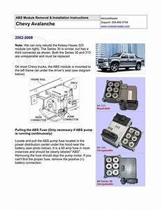 2002 Buick Lesabre Abs Module