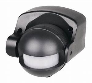 Eclairage Exterieur Avec Detecteur De Mouvement Brico Depot : d tecteur infrarouge noir brico d p t ~ Dailycaller-alerts.com Idées de Décoration