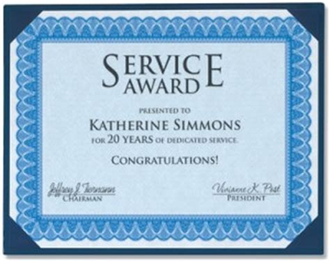 Service Anniversary Certificate Templates by Employee Anniversary Recognition Let Your Staff You