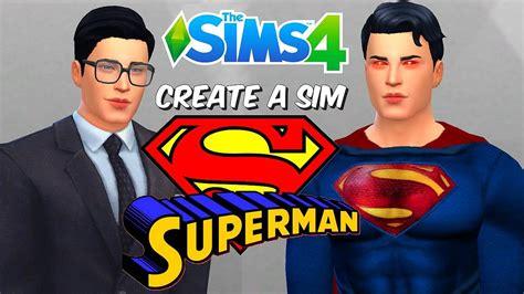 Create A Sim Superman