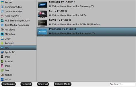 Play Mp4 On Panasonic Viera Tv From Usb