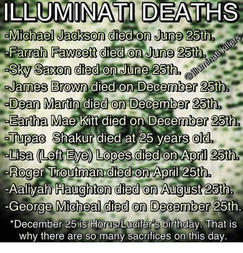 illuminati michael jackson illuminati deaths michael jackson died on june 25th farrah