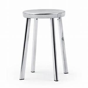 Tabouret Bas Design : deja vu tabouret bas magis aluminium poli tabouret ~ Teatrodelosmanantiales.com Idées de Décoration