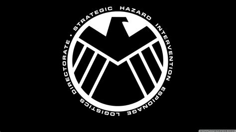 marvel  avengers shield logo ultra hd desktop