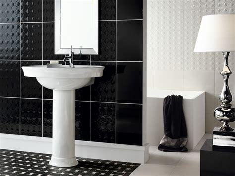 beautiful wall tiles  black  white bathroom york