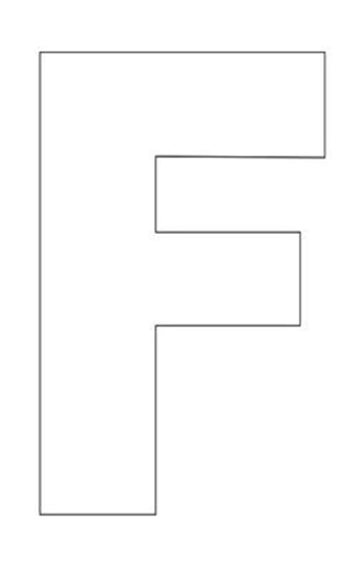 letter f template 8 best images of printable letter f template printable