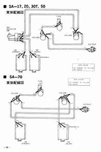 Teisco Guitar Wiring