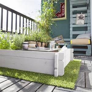 Gazon Artificiel Balcon : gazon artificiel sur une terrasse ou un balcon tous nos ~ Edinachiropracticcenter.com Idées de Décoration