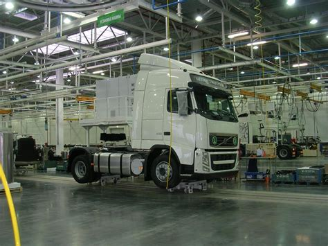 Volvo Truck Assembly Plant 15 000 Trucks Year