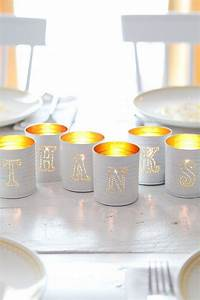 25 unique tin can decorations ideas on pinterest tin With kitchen cabinets lowes with how to make votive candle holders