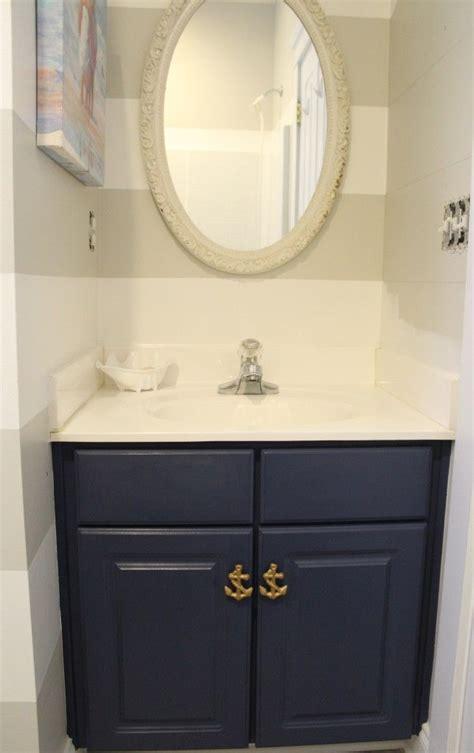 bathroom vanity painted  chalk paint diy home decor