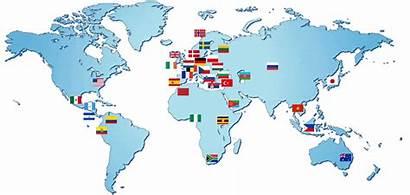 Animated Contented International Partnerships Worldmap Ctd Process