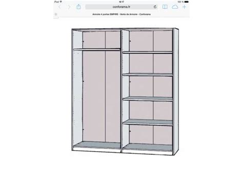 placard de cuisine conforama notice montage armoire coulissante conforama