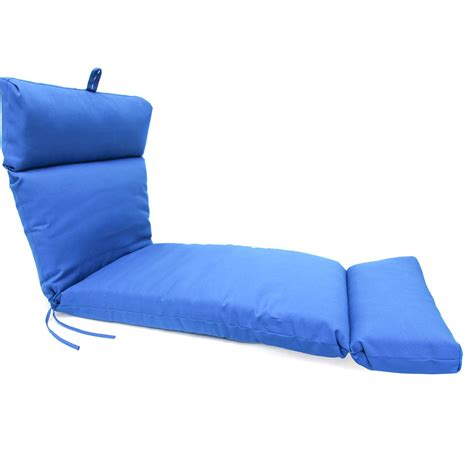 blue chaise lounge pacific blue chaise lounge cushion dfohome
