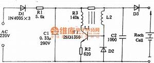 Matsushita Shaver Charge Circuit - Battery Charger