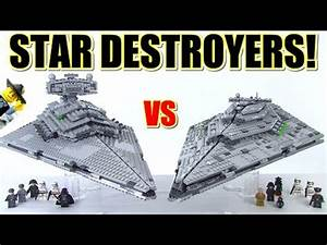 LEGO Star Destroyer 75055 vs 75190 Review Comparison ...