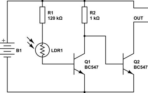 switches confusing dark sensor circuit diagram