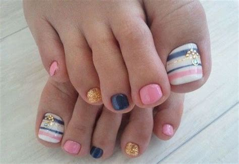 18+ Summer Toe Nail Art Designs, Ideas, Trends & Stickers