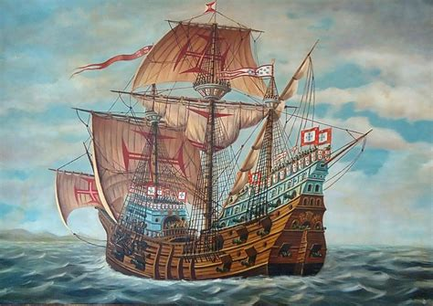 Ship Vasco Da Gama by Ships Ancient Vessels St Gabriel Carrack Vasco Da Gama