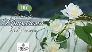 Deko Kitchen : diy fr hlingsdeko mit asiatischen pfingstrosen aus krepppapier how to deko kitchen youtube ~ A.2002-acura-tl-radio.info Haus und Dekorationen