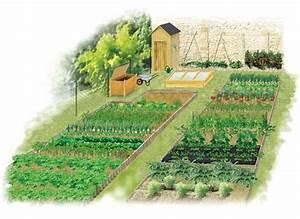 Creation Potager Surélevé : organisation jardin potager jc23 jornalagora ~ Premium-room.com Idées de Décoration