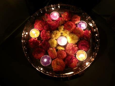 velas flotantes  decorar treinta  ocho ideas