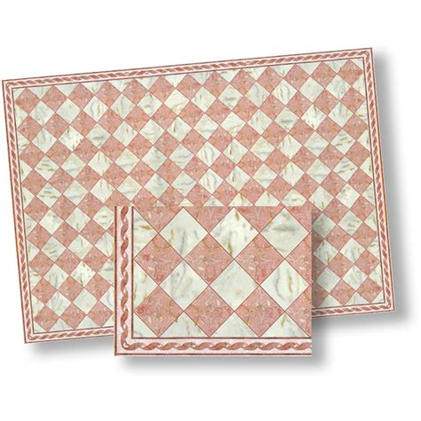faux marble tile pink white faux marble floor tile pack